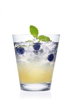 Blueberry Lemon Cocktail