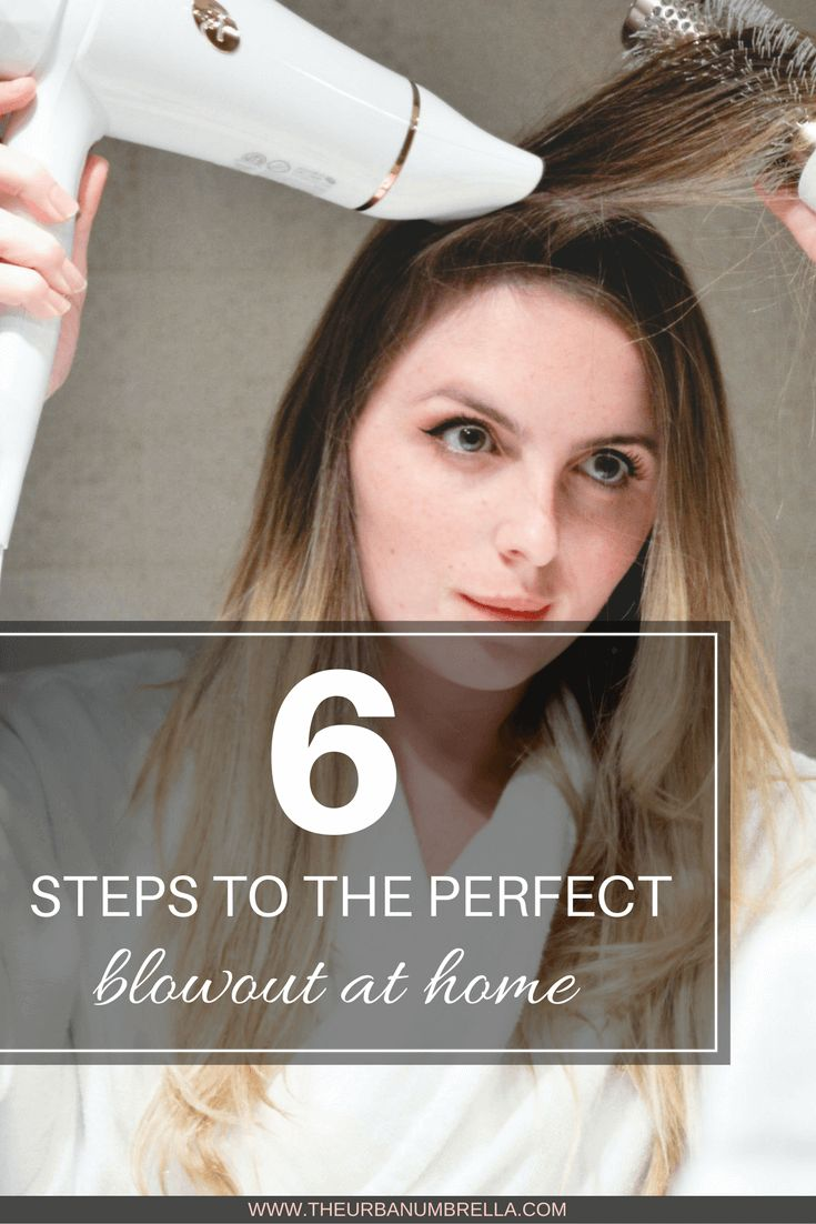 Want to get seriously gorgeous hair AT HOME? Click here to learn how to achieve the PERFECT blowout in 6 easy steps.