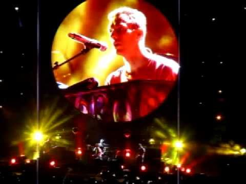 Fix You Coldplay Live Sydney 2012