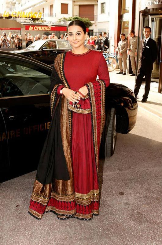 Sabyasachi outfit for Cannes