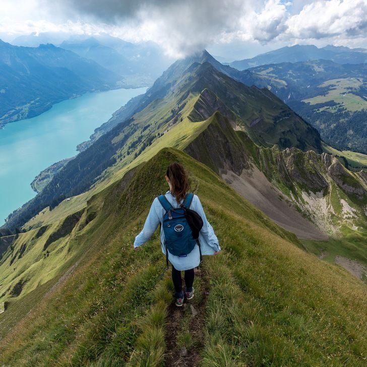 switzerland:hardergrat trail, Switzerland