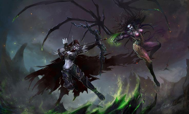 World Of Warcraft Wow Warriors Archers Armor Sylvanas