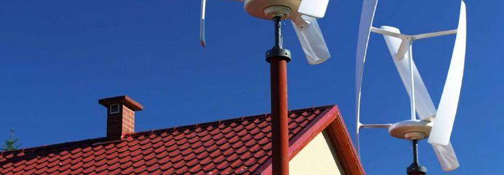 Vertikale Windturbine für Privat und Gewerbe