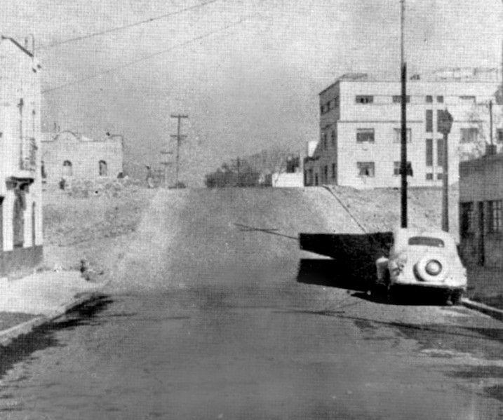 Medellín y Viaducto Piedad en 1947.