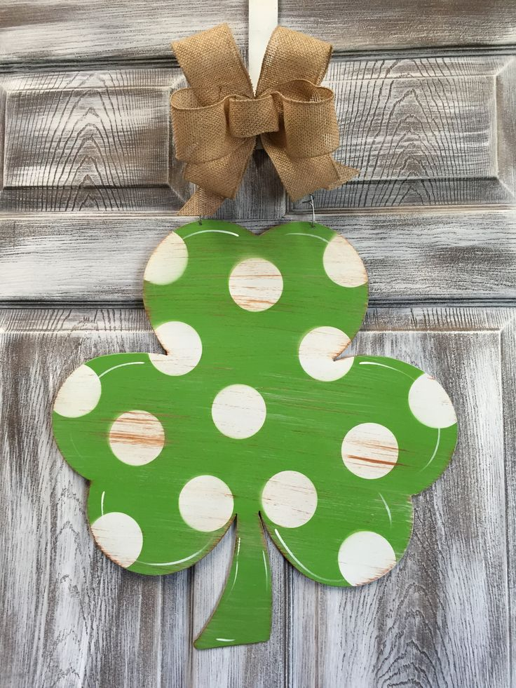 Inspiration for blank chipboard shamrock I just bought. I really like the distressed details.