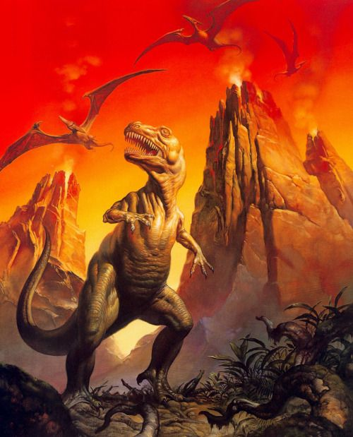 moonzerotwo:  Rex World - Boris Vallejo