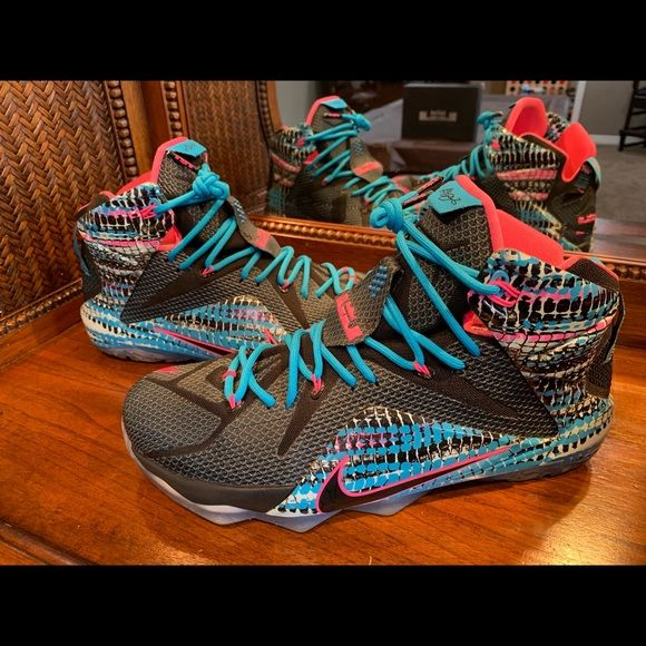 """low priced fa8dd 806a3 Nike LeBron XII """"23 Chromosomes"""" LeBron 12 🔥 Basketball is in LeBron James"""