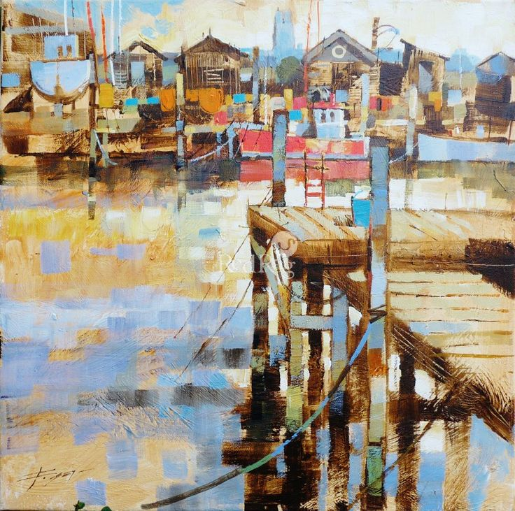 Chris FORSEY - Jetties, Boats and Fishing Sheds