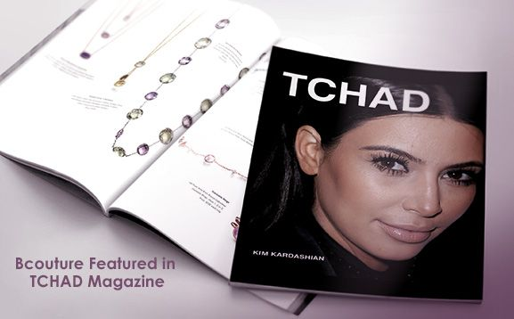 Bcouture Featured in TCHAD Magazine; Bcouture blog
