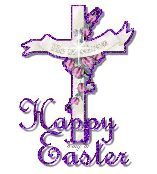 He is risen happy easter easter purple happy easter easter - Christian easter images free ...