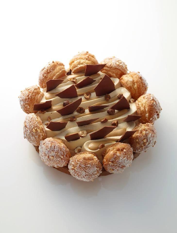 """Fantastik """"Gianduja, sirop d'érable, confiture de lait"""" / design pastry"""