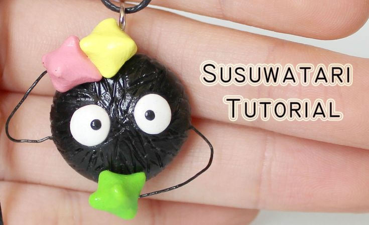 Polymer Clay Tutorial: Susuwatari /Dust Sprites from Spirited Away by St...