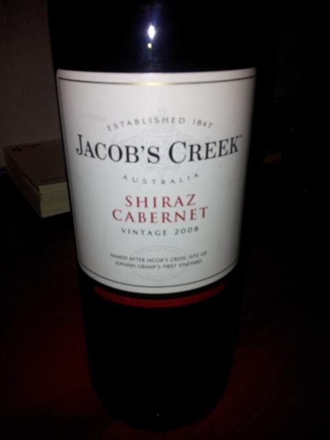 Jacob's Creek Shiraz Cabernet Vintage 2008