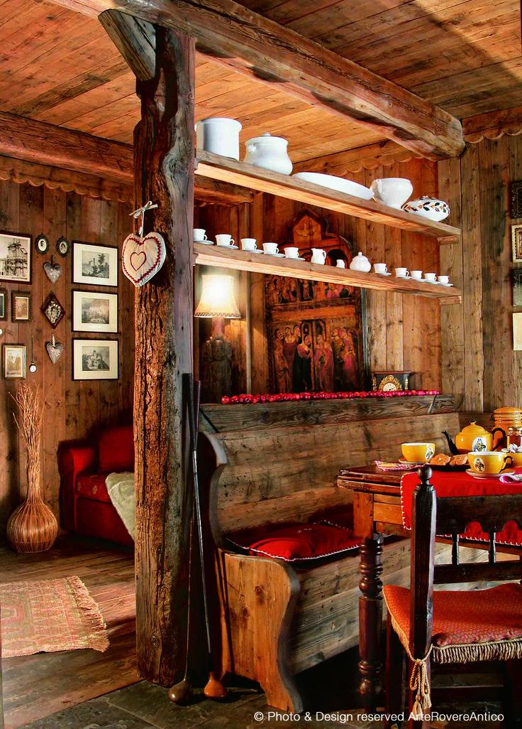 17 migliori idee su arredamento baita di montagna su for Idee di pavimentazione cabina di log