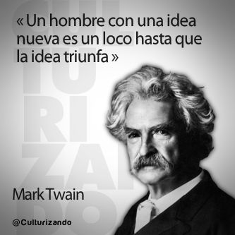 Simples Comillas: Las mejores frases de Mark Twain