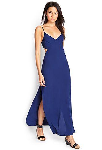 Cutout Maxi Dress Forever21 2000123501 22 80 Fashion
