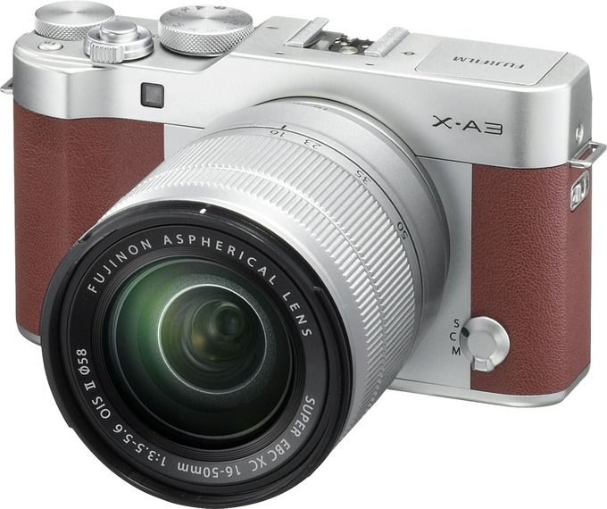 The X-A3 is Fujifilm's entry-level mirrorless camera. It features a 24MP CMOS…