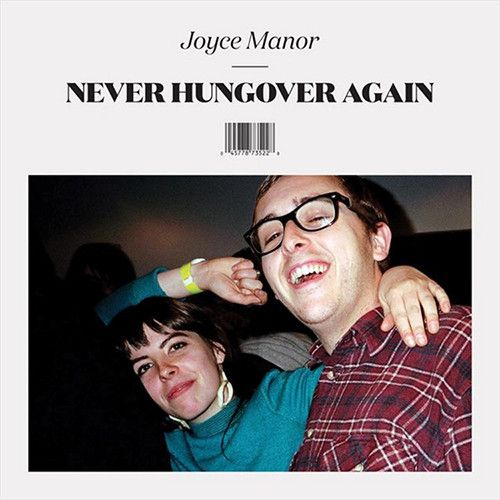 Joyce Manor Never Hungover Again on 45RPM LP + CD Joyce Manor was conceived in the back of a car in the Disneyland parking lot - the kind of beginning California dreams are made of. It was the fall of