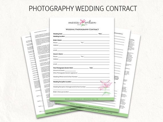 Best 25+ Wedding photography contract ideas on Pinterest - wedding photography contract template