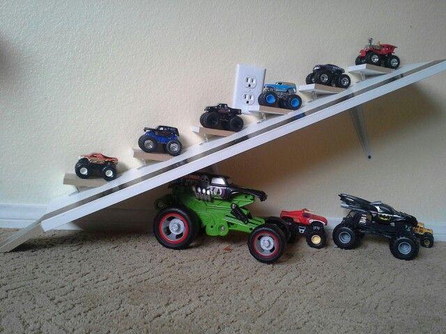 Monster Truck Ramps My Diy Kids Room Ideas Pinterest