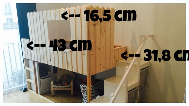 Heute mal etwas völlig Anderes:      IKEA KURA HACK:   Das ist der wohl einfachste und kostengünstigste Weg ein Hochbett zu bauen, das auch ...