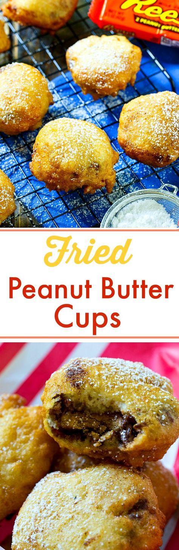 Deep Fried Peanut Butter Cup- so good!