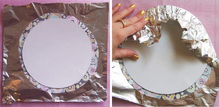 Лайфхак: идеальный круг из ткани за 5 минут