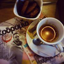 Cadillac Records Bar ,Greece, Karditsa #karditsa #greece #coffee #espresso #cookies #chocolate #cafe #bar