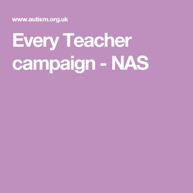 Every Teacher campaign - NAS