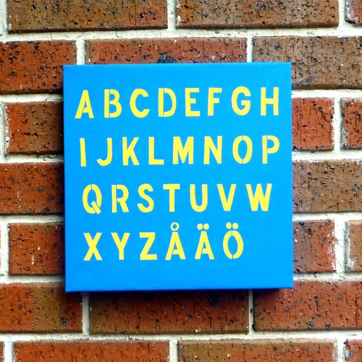 Swedish Alphabet!