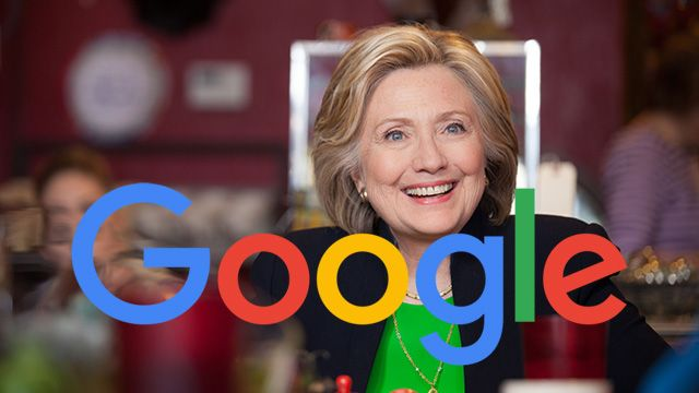 Report: Google Manipulates Search Engine in Favor of Hillary... This can sway an election.