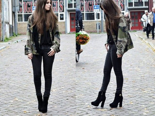 30 Best Images About Ankle Boot Outfits On Pinterest | Ankle Boot Outfits Ankle Boots And ...