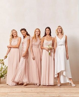 bea358c8bad7 Bridesmaid Dresses - Macy's | Bridesmaids Dresses | Beaded chiffon ...