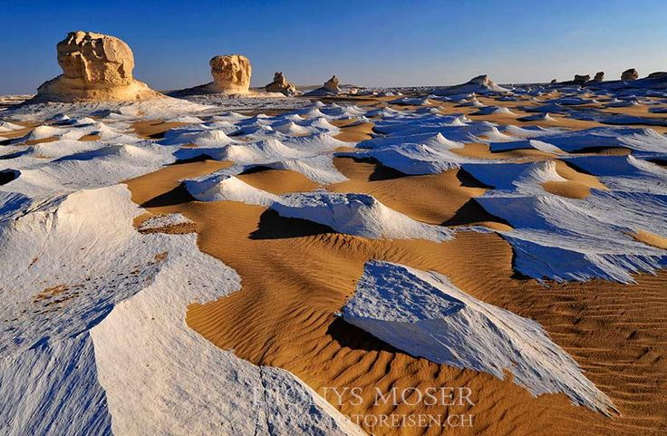 """pack ice of sahara - This foto is taken on our last <a href="""" http://www.fotoreisen.ch/en/egypt/white-desert"""">White Desert Fototour</a> tour. in Egypt in oct 2012.  The white in that foto is a huge layer of chalk polished with sand by the wind. The place is unique in the world.  Enjoy a first class Photography Tour trip!Experience The White Desert through a trip that has been developed and put together by Dionys Moser, the Pioneer of The White Desert!  He has spent more than 5 years of..."""