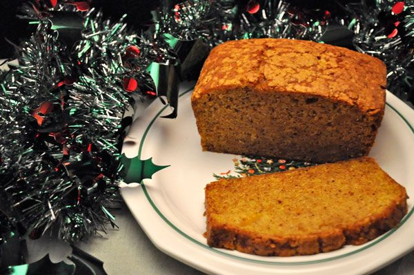 Butternut Squash Bread, well, Pumpkin Bread made with butternut squash as that is what I have