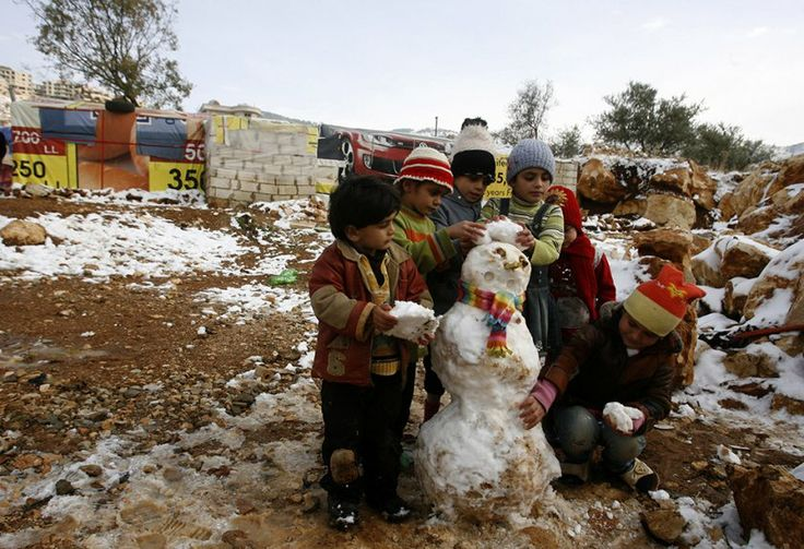 11 Stunning Photos Of the Historic Snow Storm Hitting the Middle East - PolicyMic