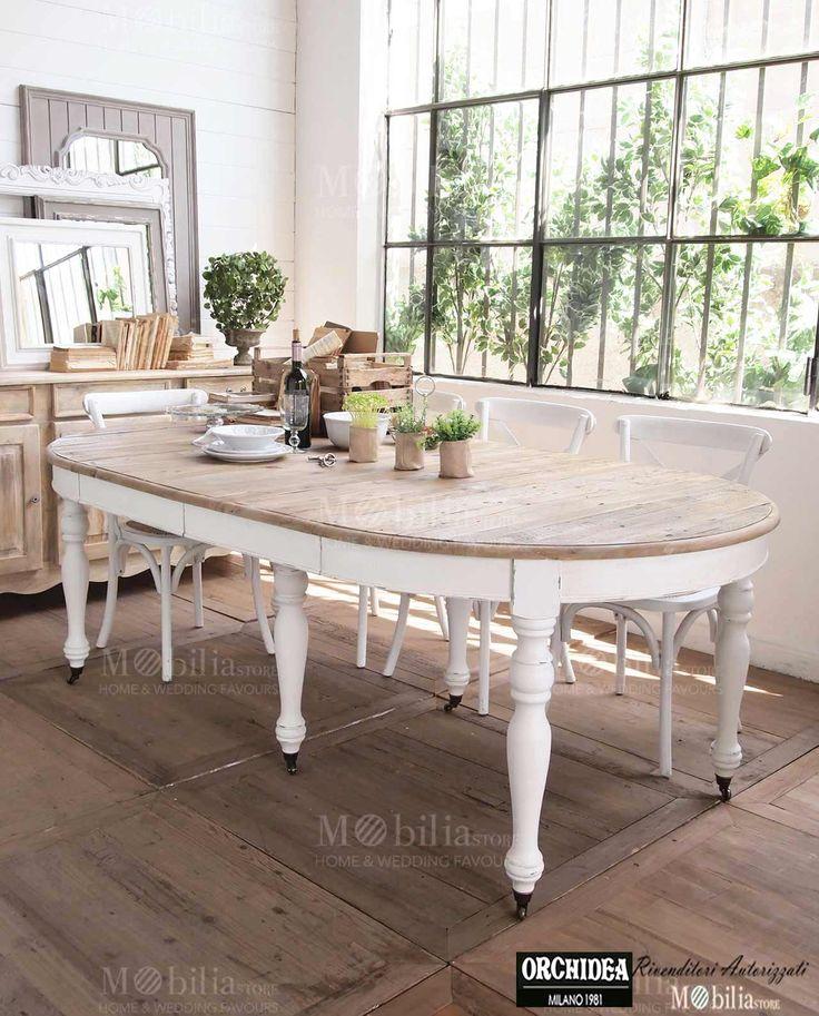 Oltre 25 fantastiche idee su sedie per tavolo da pranzo su for Tavolo rotondo legno chiaro