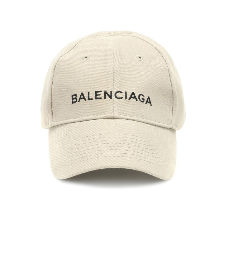 Balenciaga - Embroidered cotton baseball cap - For the ultimate in relaxed cool, look no further than Balenciaga's branded cotton cap. Crafted in Italy and embroidered with the brand's logo, this new-season essential has an adjustable back for optimal comfort. Style yours with cropped jeans and statement T-shirts for weekend wear. seen @ www.mytheresa.com