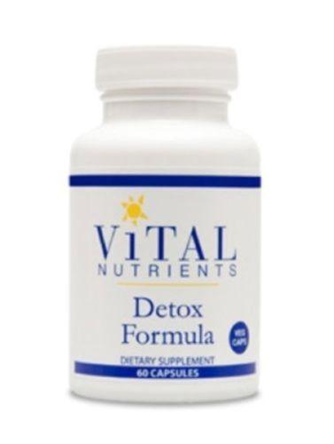 Vital-Nutrients-Detox-Formula-60-Veg-Capsules-VNDTX-2-Pk-Exp-8-17-SD