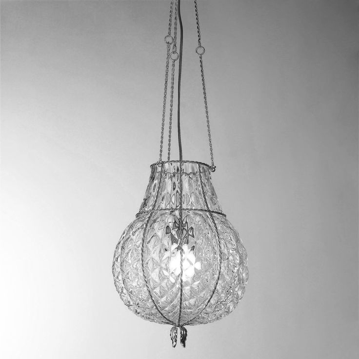 Odalisca #glass #hanging #lamp by ‪#‎Siru‬ Vecchia Murano collection -> http://bit.ly/1Badk8n