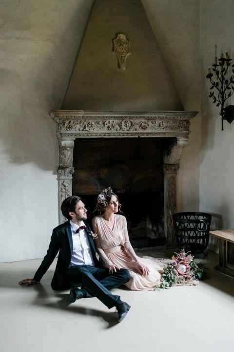 Hochzeit im Schloss, heiraten in Südtirol, Herbst, Dolomiten