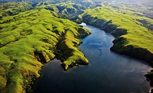 The untouched landscape Papua New Guinea
