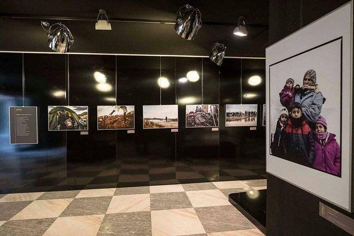 Exodos. Mostra su rotte migratorie, storie di persone, arrivi, inclusione nello spazio espositivo del palazzo della Regione Piemonte