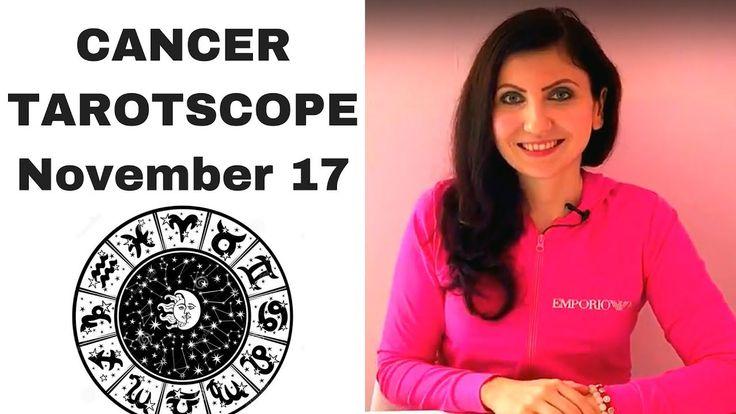 Cancer November 2017 Tarotscope