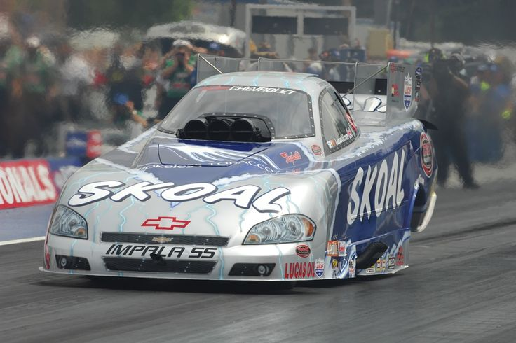 """Prudhomme's 2007 Chevrolet Impala SS """"Skoal"""" Funny Car."""