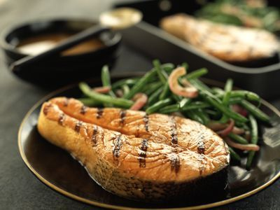This simple George Foreman grill chicken recipe uses lemon juice, garlic, olive oil and seasoning. Find tips and tricks for the juiciest chicken yet.