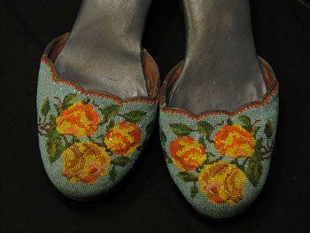 Nyonya beaded shoes