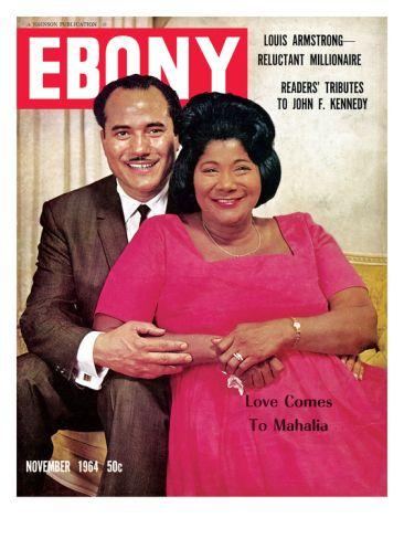Historic Ebony Magazine Covers Nov 1964