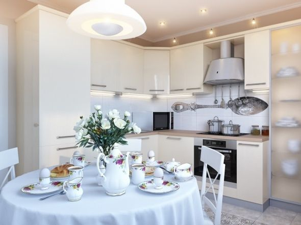 Marvelous Cortina rom ntica na cozinha