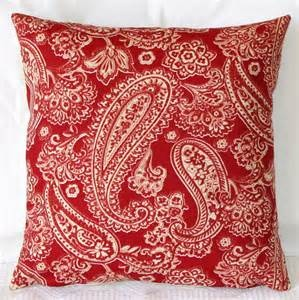 A red pillow goes almost anywhere.